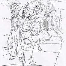 As três bruxas irmãs muito poderosas