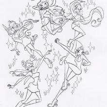 As meninas do Clube das Winx