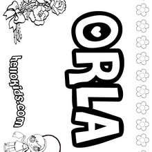 amor, Orla