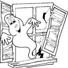 Um fantasma na janela