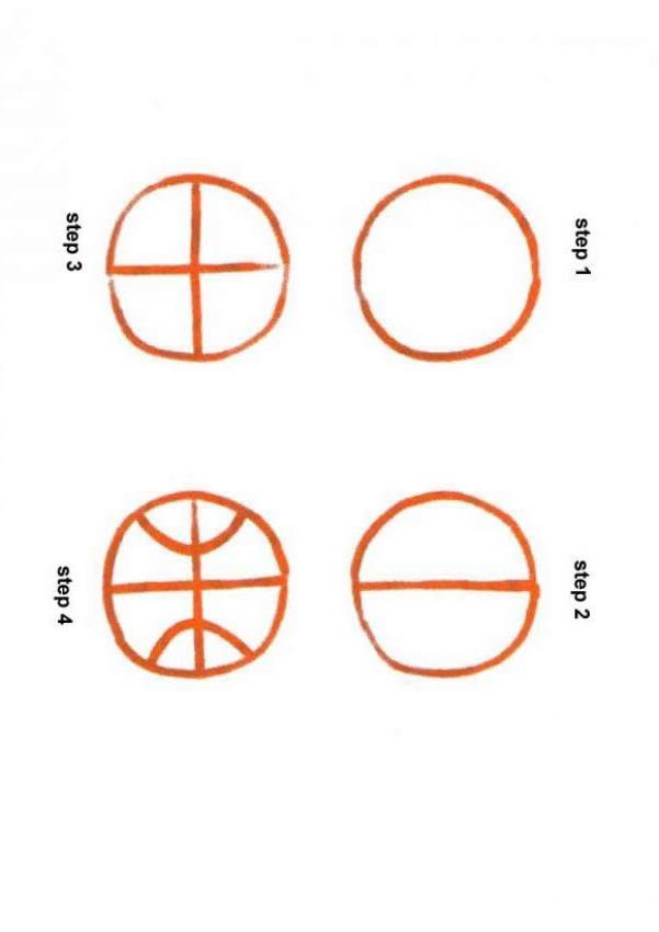 Como desenhar uma bola