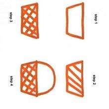 Como desenhar uma cesta