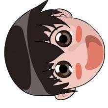 Máscara de um menino