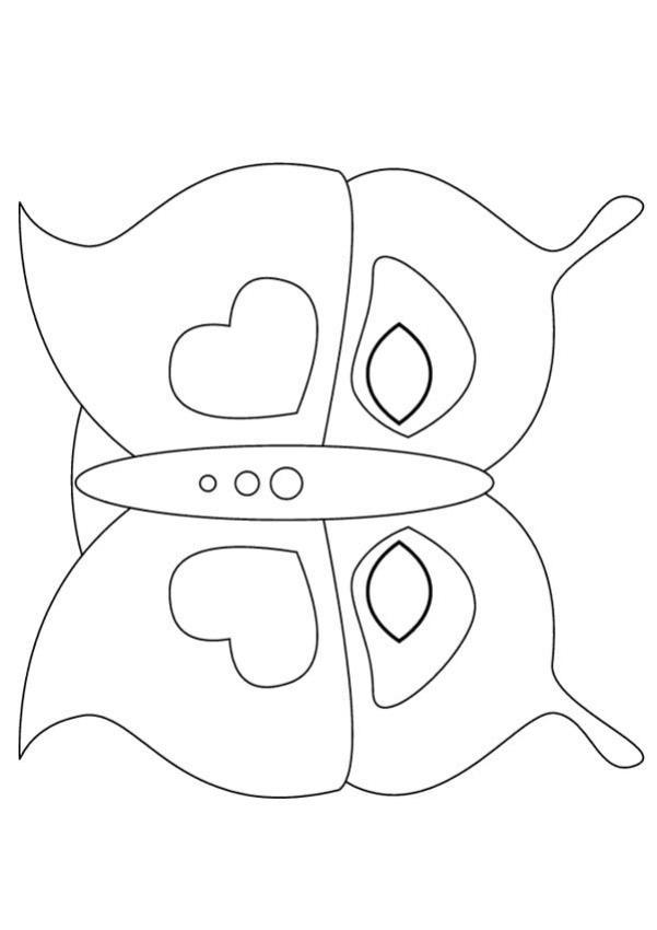 Máscara de uma Borboleta