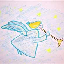 Como desenhar um anjo