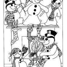 O Natal dos bonecos de neve