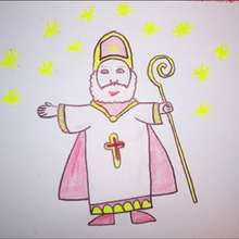 Como desenhar o São Nicolau de Mira