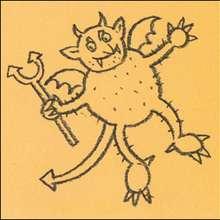 Como desenhar um diabo do Dia das Bruxas