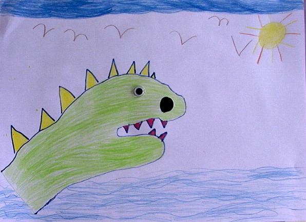 Como Desenhar Como Desenhar Um Dinossauro Com Sua Mao Pt