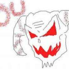 Desenho de um monstro do Dia das Bruxas