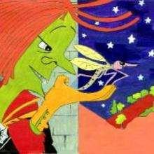 brucha, A bruxa verde