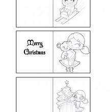 Etiquetas divertidas para os presentes de Natal
