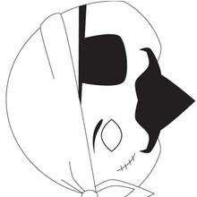 Máscara de um Pirata