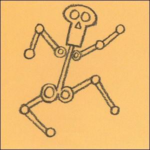 Como desenhar um esqueleto do Dia das Bruxas