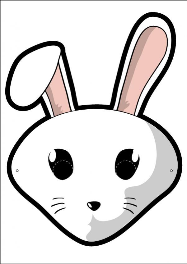Máscara do Usagi, o coelho