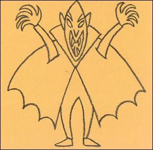 Como desenhar um Vampiro do Dia das Bruxas