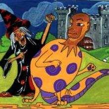 A bruxa e o monstro