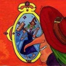 Dia das Bruxas, Retrato da bruxa com o espelho