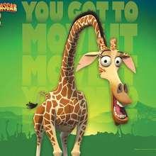 Fundo de tela de Madagascar 2 : Melman, a Girafa