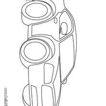 Desenho de um Veículo para colorir