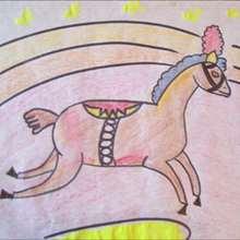 Como desenhar um cavalo de circo
