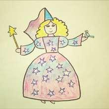 Como desenhar uma fada madrinha