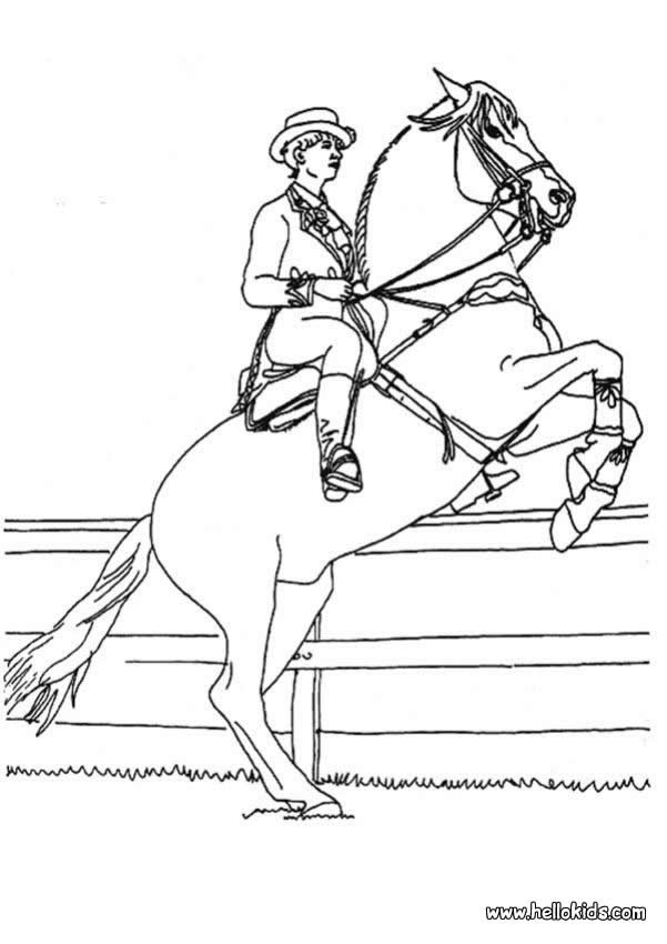 stampede of horses coloring pages - photo#9