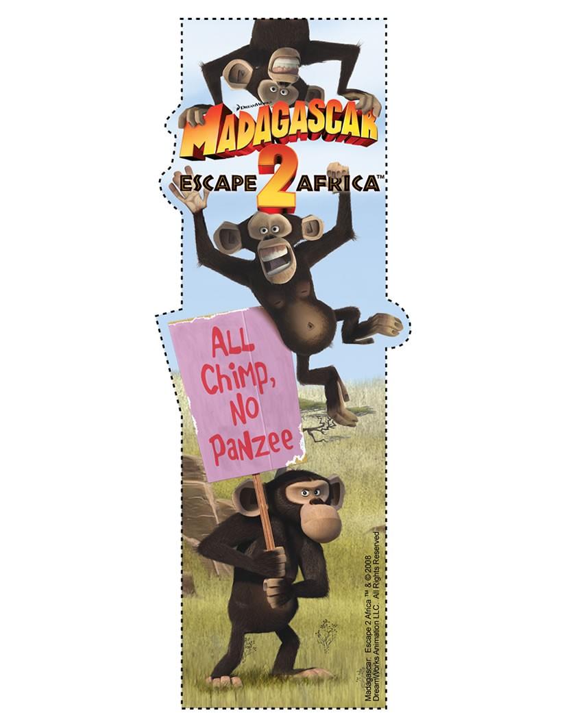 Marcador de página: Os chimpanzés de Madagascar