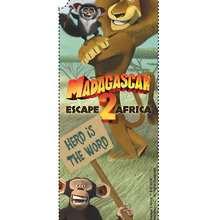 Marcador de página de Madagascar 2: A Grande Escapada