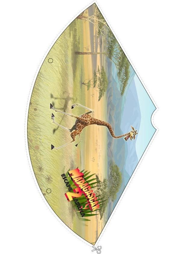 Madagascar 2: chapél de aniversario da Melman, a girafa