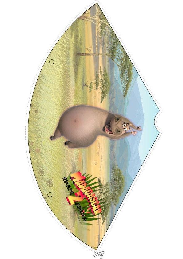 Madagascar 2: chapél de aniversario da Glória, a  Hipopótamo