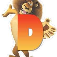 Madagascar 2: Letra D