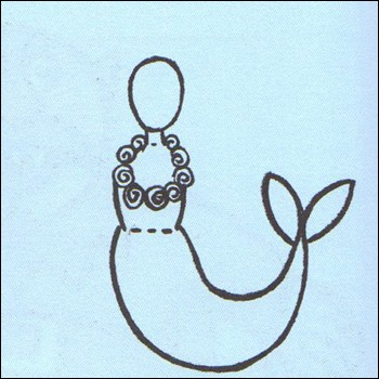Como desenhar uma Sereia