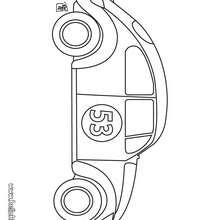 Desenho de um carro antigo para colorir