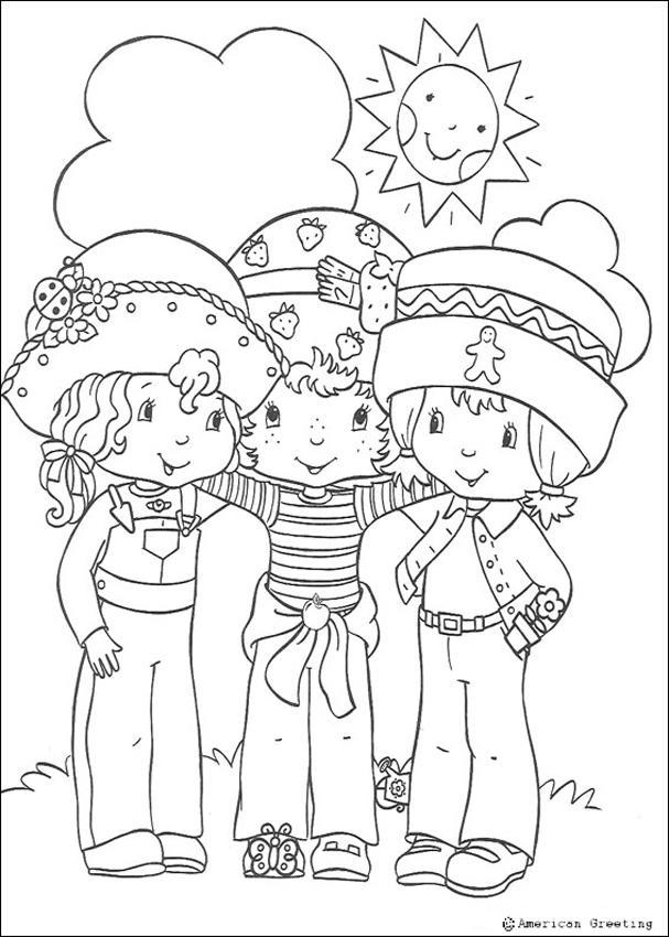 desenhos para colorir de desenho de um morango para colorir pt