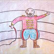 Como desenhar um Domador de circo