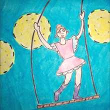 Como desenhar uma trapezista