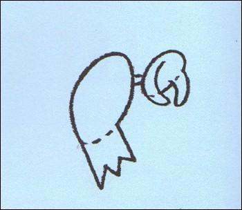 Como desenhar uma Bruxa na sua vassoura voadora