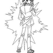 Desenho do Aster Phoenix para colorir