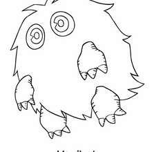 Desenho do Kuriboh  para colorir