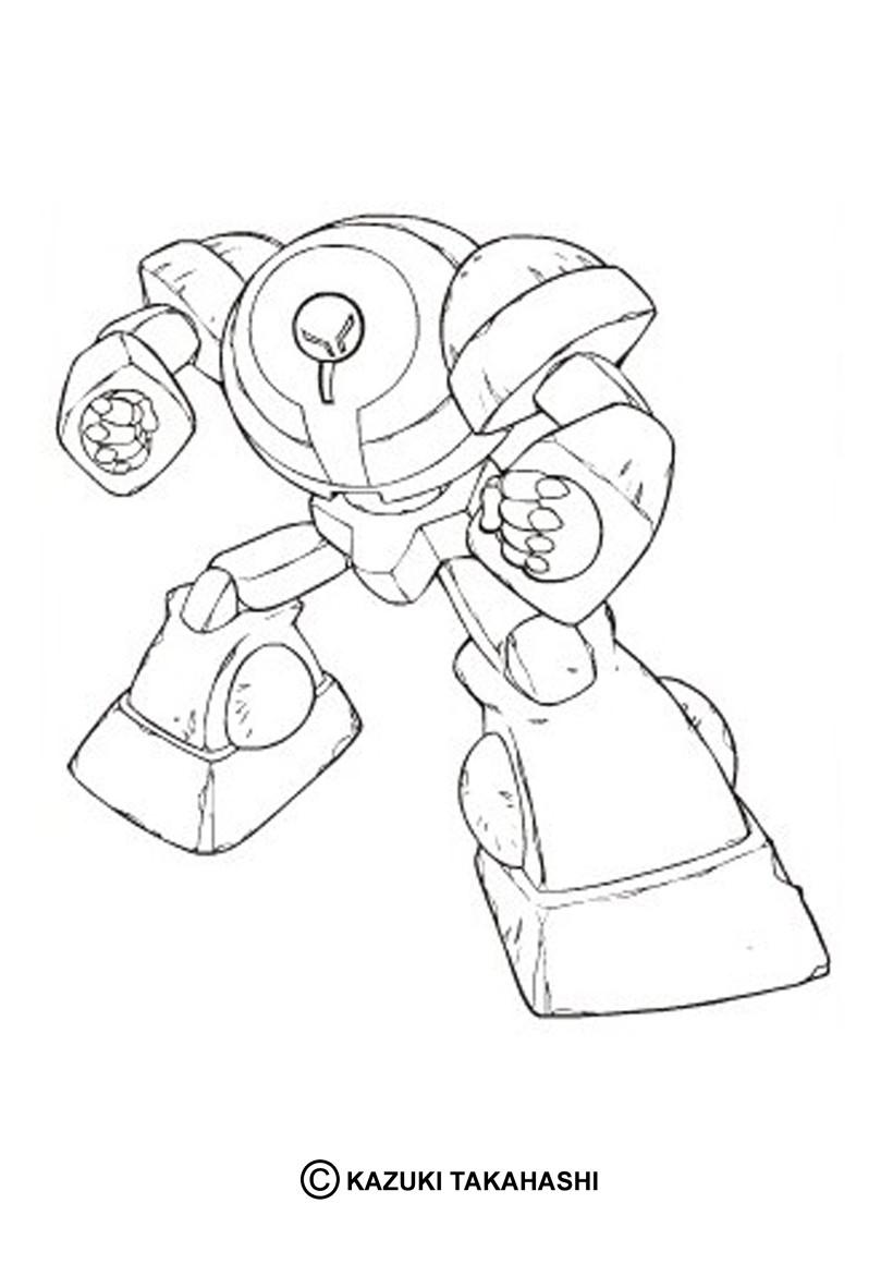 Desenhos Para Colorir De Desenho De Uma Maquina Poderosa Para