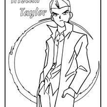 Desenho do Tristan Taylor para colorir