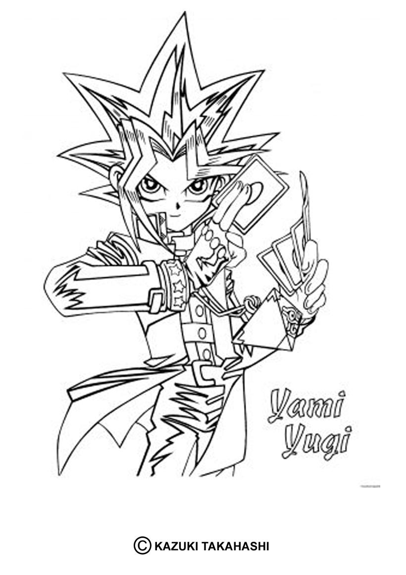 Desenhos para colorir de desenho do yami yugi para colorir - Yu gi oh dessin ...