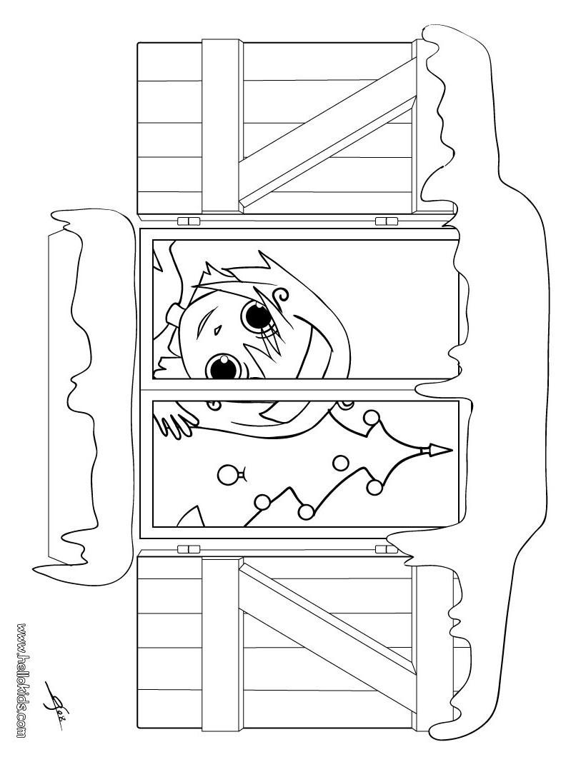 Desenhos Para Colorir De Desenho De Uma Menina Na Janela No Dia Do
