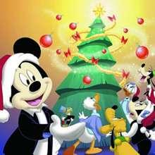 Papél de parede: Mickey no Natal