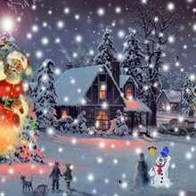 Papél de parede: Papai Noel chegando