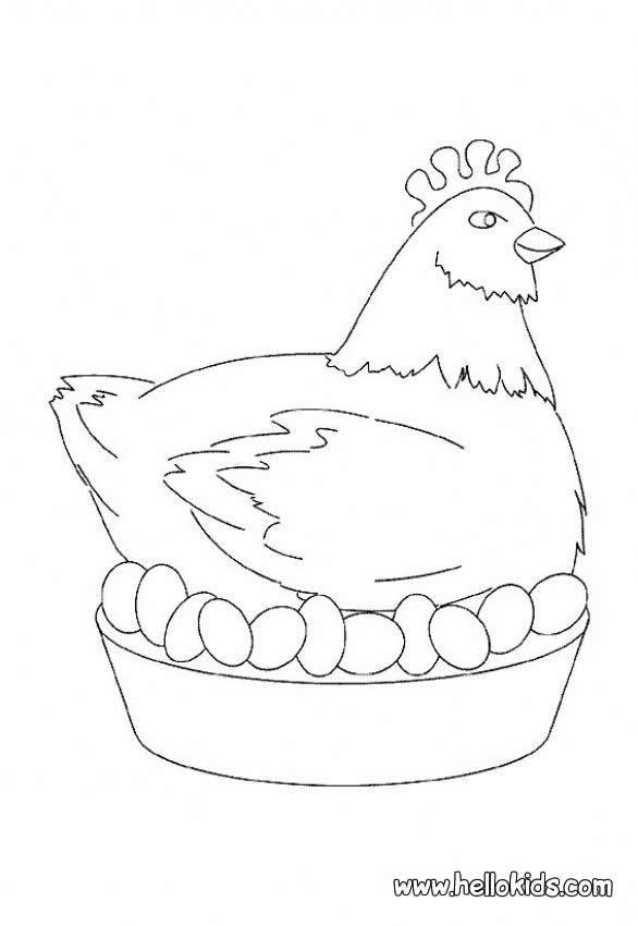 galinha desenhos para colorir jogos gratuitos para crianças