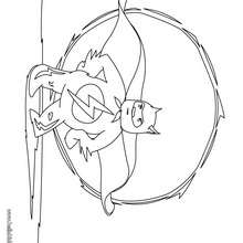 Desenho de um Super-herói  para colorir