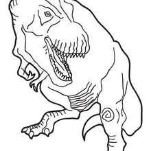 Tirannossauro Rex para pintar