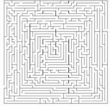 Labirinto difícil: CONCENTRE-SE!